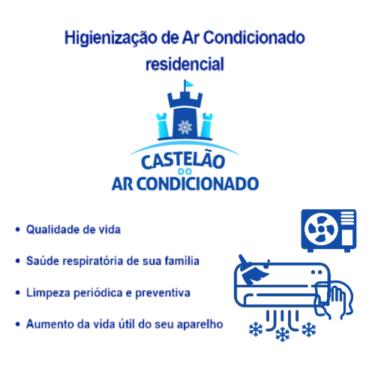 Castelão do Ar, banner higienização, transparente, 500X500 px