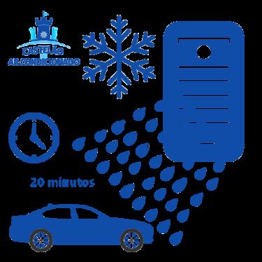Castelão do Ar, higienização ar condicionado automotivo transparente, 500X500 px